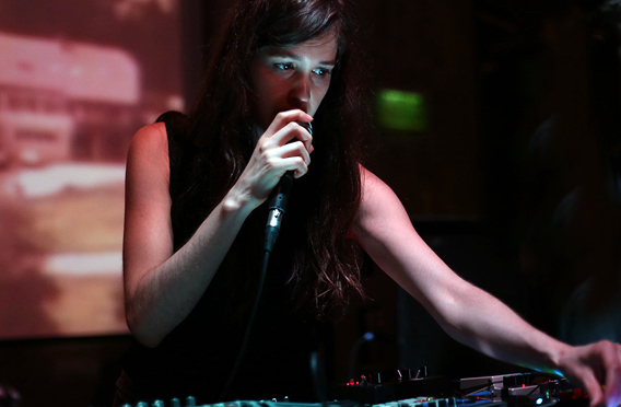 Marie Davidson plays live in  NYC 3/9/17